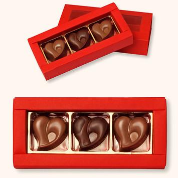 Schokoladeherzli